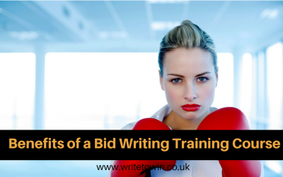 Benefits of a Bid Writing Training Course